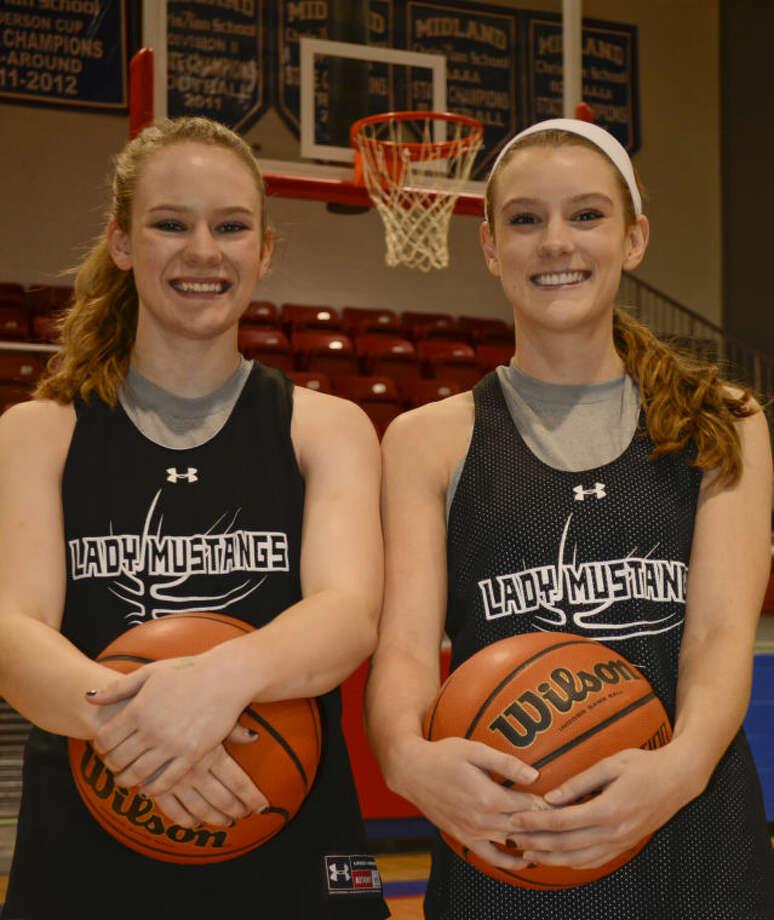 Megan and Morgan Ashton, dual threats for Midland Christian basketball. Tim Fischer\Reporter-Telegram Photo: Tim Fischer