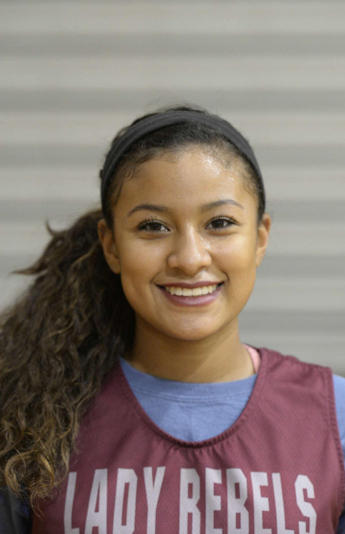 Mug of Lee girls basketball player Allison Valdez James Durbin/Reporter-Telegram