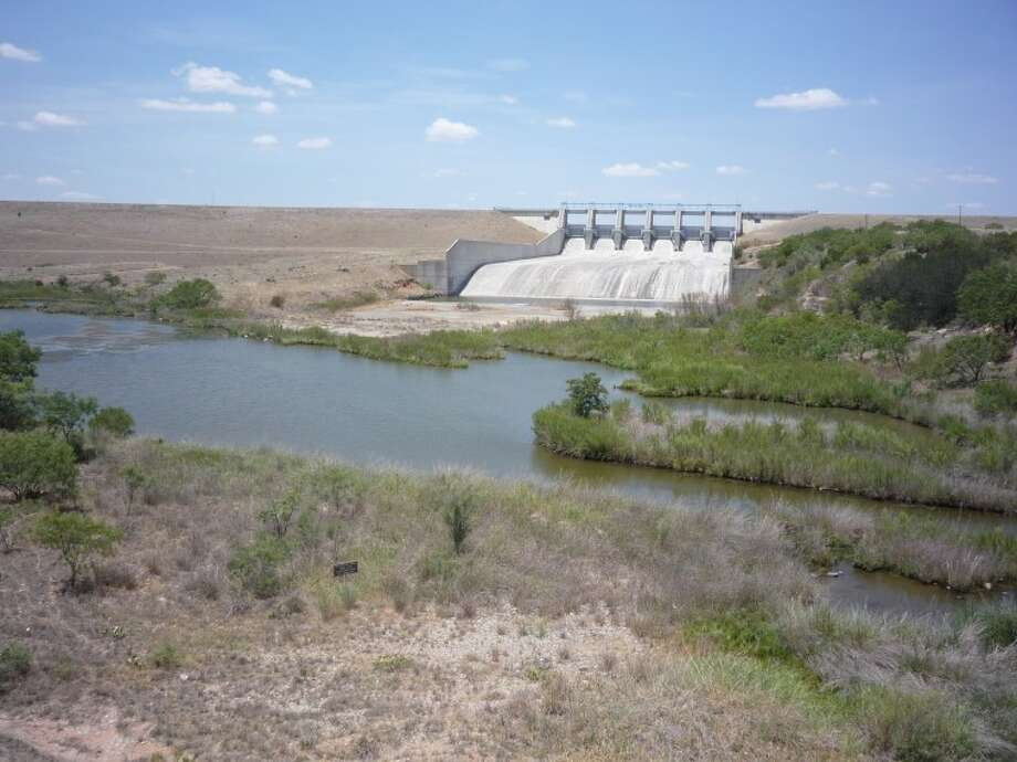 OH Ive Reservoir dam runs along the south shore of the reservoir. Photo: James Cannon/MRT