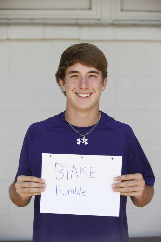 Midland High Varsity Football mug Blake Humble Photo: James Durbin