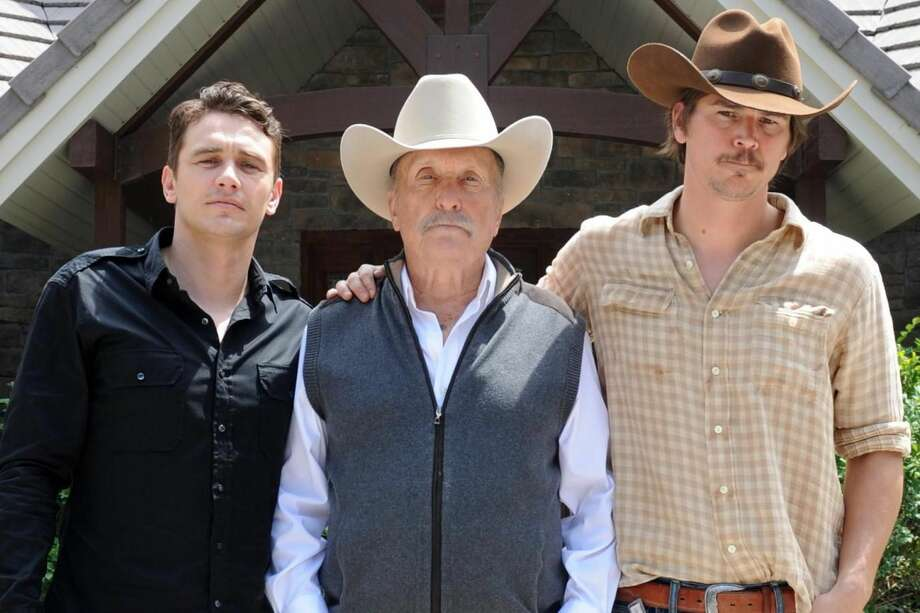 Academy award winning actor Robert Duvall, center, stars and directs in this film about a Texas Ranger who reopens a 15-year-old missing person case, and uncovers evidence that suggests foul play on a ranch belonging to wealthy family man, Scott Briggs. The film will premiere at South By Southwest this March. Photo: Courtesy Photo