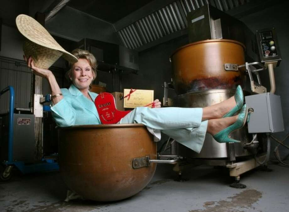 (File Photo) Susie Hitchcock Hall, owner of Susie's South Forty is celebrating 20-years in business. Since starting her candy business in 1991 one of the things she's most proud of today is her custom made cookers that has helped increase her toffee production by 40 percent. Cindeka Nealy/Reporter-Telegram