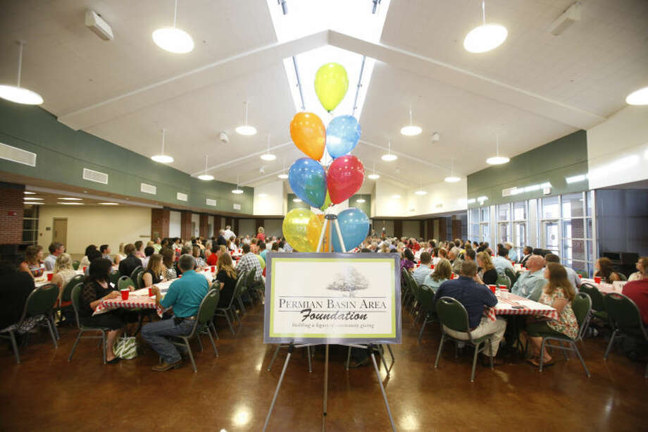 Permian Basin Area Foundation scholarship ceremony Thursday at Horseshoe Education Building. James Durbin/Reporter-Telegram Photo: JAMES DURBIN