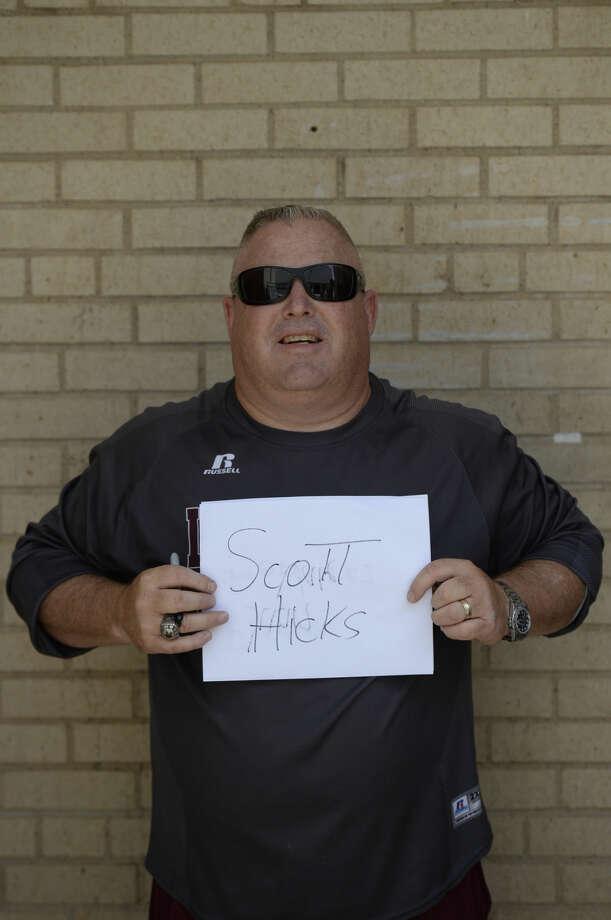 Lee High School football mugs 2015 - Coach Scott Hicks James Durbin/Reporter-Telegram Photo: James Durbin