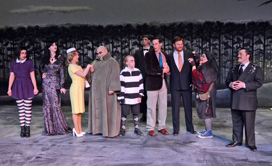 MCT production of The Addams Family, photographed Jan. 22, 2015. James Durbin/Reporter-Telegram Photo: James Durbin
