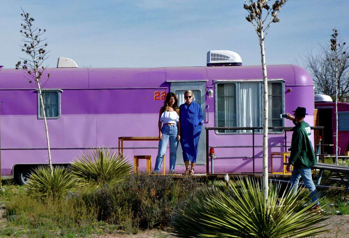 El Cosmico in Marfa offers trailers, teepees and even a yurt as accommodations.