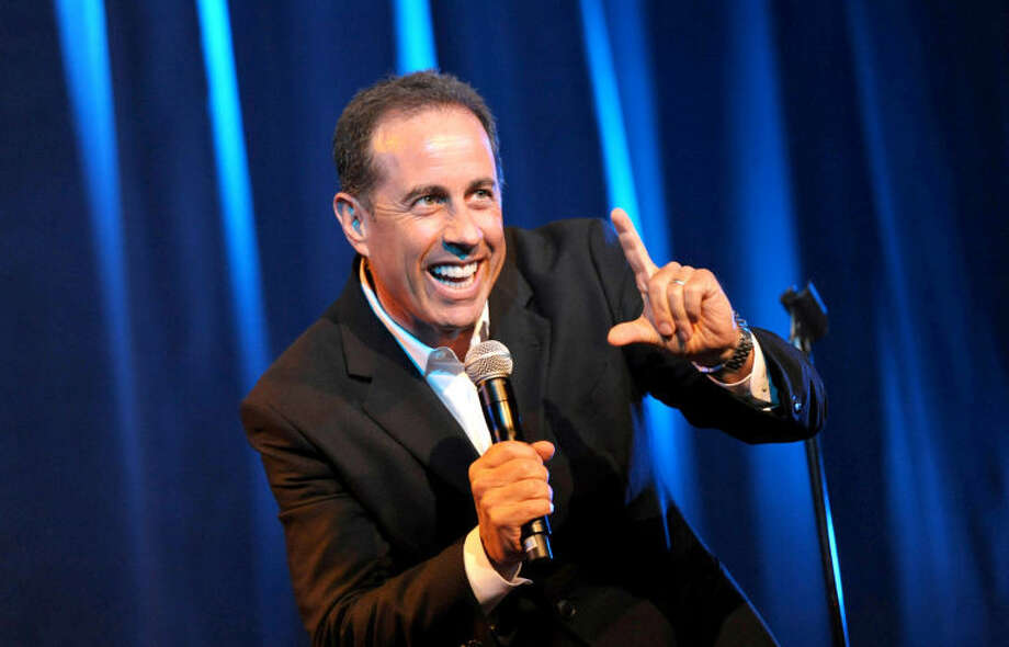Jerry Seinfeld performs onstage at the David Lynch Foundation: A Night of Comedy honoring George Shapiro at the Beverly Wilshire Hotel on Saturday June 30, 2012 in Beverly Hills, Calif. (Photo by John Shearer/Invision for David Lynch Foundation/AP Images) Photo: John Shearer