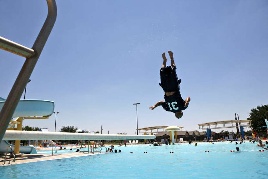 Washington Aquatic Center opened for the summer on Saturday. James Durbin/Reporter-Telegram Photo: James Durbin