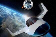 This undated image provided by XCOR shows the XCOR Lynx, a suborbital horizontal-takeoff, horizontal-landing, rocket-powered spaceplane under development by the California-based company XCOR. Space tourism companies are employing designs including winged vehicles, vertical rockets with capsules and high-altitude balloons. While developers envision ultimately taking people to orbiting habitats, the moon or beyond, the immediate future involves short flights into or near the lowest reaches of space without going into orbit. (XCOR via AP)