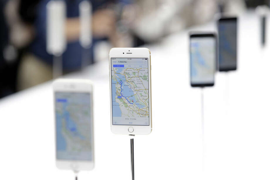 The iPhone 6 is displayed on Tuesday, Sept. 9, 2014, in Cupertino, Calif. (AP Photo/Marcio Jose Sanchez) Photo: Marcio Jose Sanchez