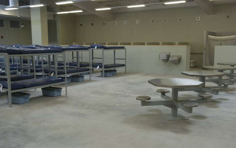 (File Photo) One of three pods that will hold prisoners when the new Midland County Jail opens Mnday. Photo by Tim Fischer/Midland Reporter-Telegram Photo: Tim Fischer