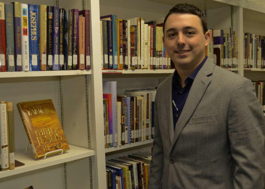 Aaron Wills, new pastor for Bellview Baptist Church. Tim Fischer\Reporter-Telegram Photo: Tim Fischer