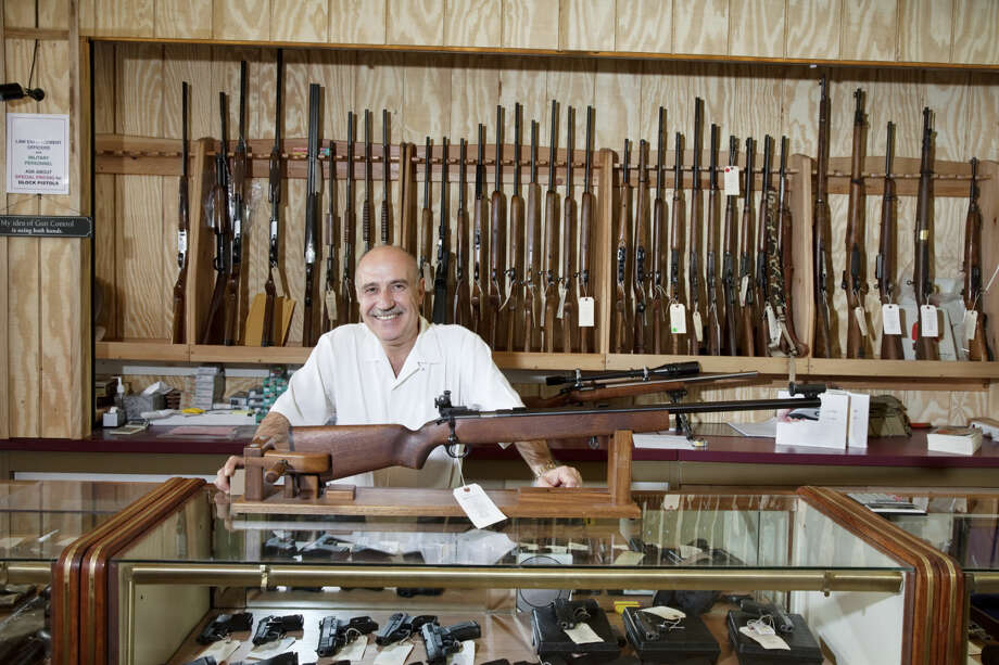 Midland County ranked No. 7 in the U.S. for ratio of gun stores to libraries and museums: 57 gun stores to 13 libraries and museums. That ratio equates to 4.38 gun stores per library. Maybe a gun museum is in order for the Tall City. Photo: Thinkstock