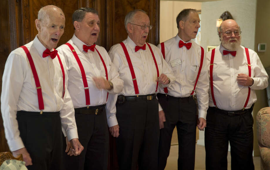At least one of these guys is a baritone. And so am I. Photo: Tim Fischer