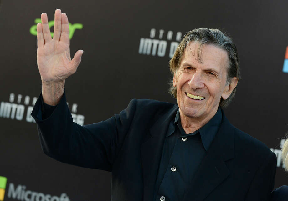 "In this May 14, 2013 file photo, Leonard Nimoy arrives at the LA premiere of ""Star Trek Into Darkness"" at The Dolby Theater in Los Angeles. Nimoy, famous for playing officer Mr. Spock in ""Star Trek"" died Friday, Feb. 27, 2015 in Los Angeles of end-stage chronic obstructive pulmonary disease. He was 83. Photo: Photo By Jordan Strauss/Invision/AP, File"