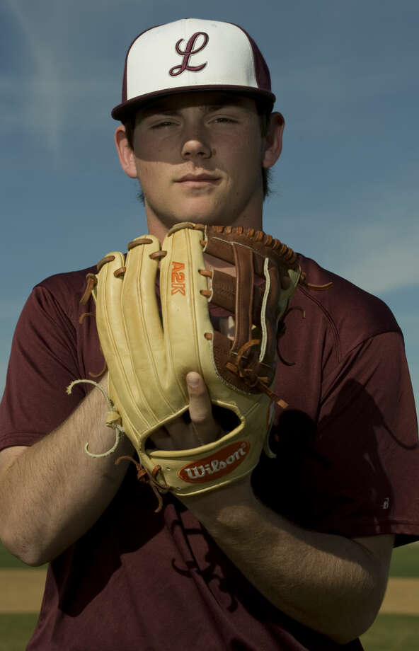 Lee High's Blake Blessie, pitcher and infield, Wednesday 02-17-16 Tim Fischer/Reporter-Telegram
