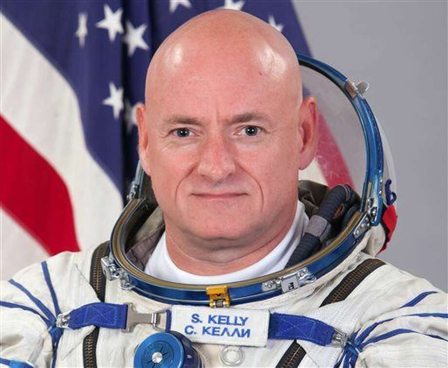 This photo provided by the Gagarin Cosmonaut Training Center via NASA, shows astronaut Scott Kelly. After nearly a year in space, Kelly is just a few days away from returning to Earth. On Thursday, Feb. 25, 2016, Kelly is scheduled to hold his final news conference from the International Space Station. He'll check out Tuesday, riding a Russian Soyuz capsule back to the planet to end NASA's longest space flight ever. (AP Photo/Gagarin Cosmonaut Training Center via NASA) Photo: HOGP
