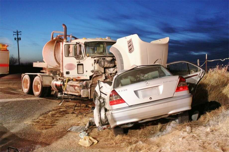 Lindsay Ann McCutchen, 27, was killed Sunday, Feb. 20, 2011 when an 18-wheeler collided with her car on Highway 158. Photo: MRT File Photo