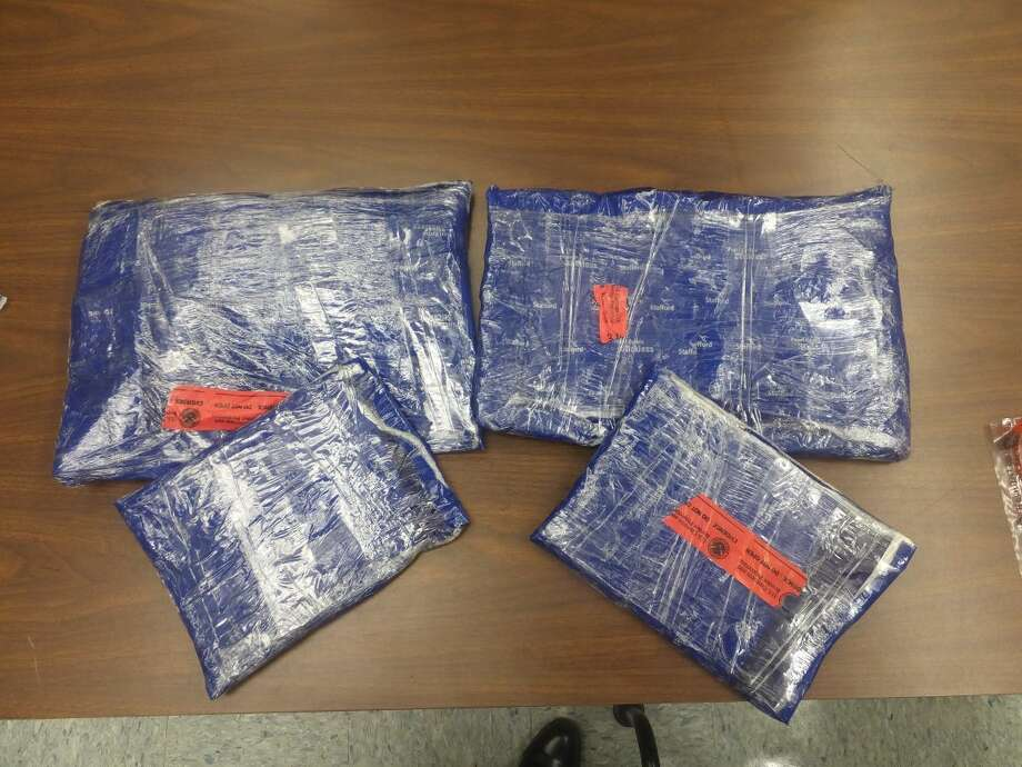 This file photo shows 5 pounds of alleged methamphetamine from an unrelated bust. Photo: File Photo