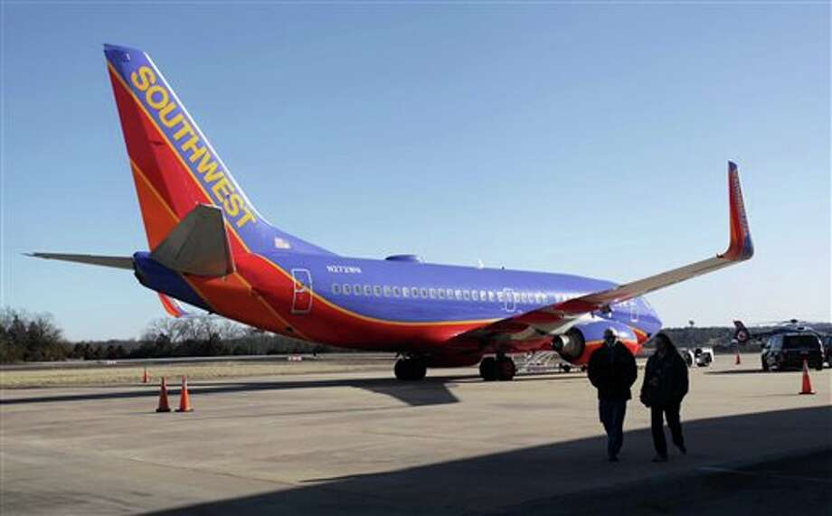 Southwest Airlines flights at Midland International Airport will not be directly affected by the repeal of flight restrictions that stemmed from the Wright Amendment. Photo: Valerie Mosley / Springfield News-Leader