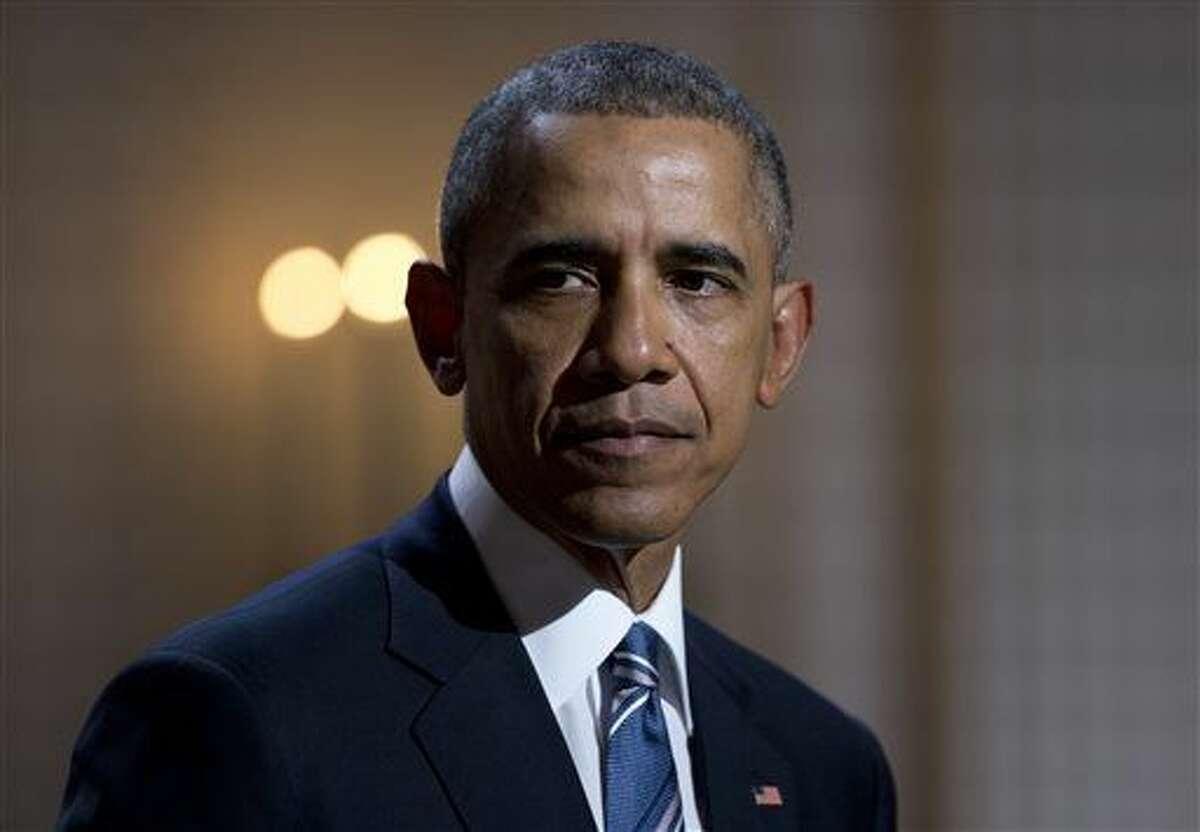 FILE - President Barack Obama (AP Photo/Carolyn Kaster, File)