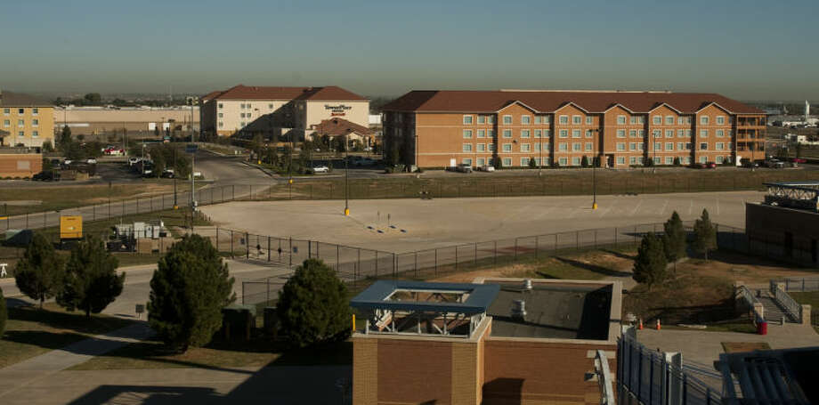 Some of the hotels near the Sports complex. Tim Fischer\Reporter-Telegram Photo: Tim Fischer