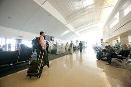 Interior view of the terminal at Midland International Airport, Feb. 13, 2014. James Durbin/Reporter-Telegram
