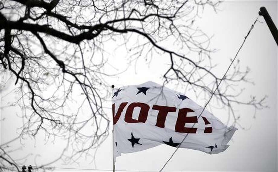 Election Day is May 6. Times and voting centers will be published in future editions. (AP Photo/Eric Gay)