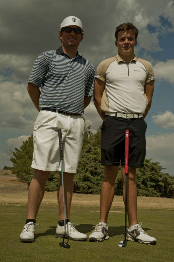 Lucas McCubbin and David Wicks, Midland College golfers. Tim Fischer\Reporter-Telegram Photo: Tim Fischer