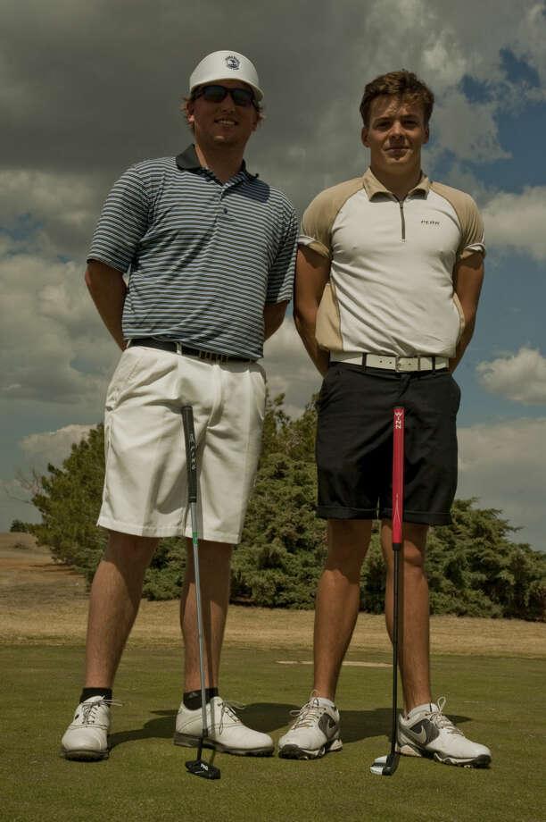 Lucas McCubbin and David Wicks, Midland College golfers. Tim Fischer\Reporter-Telegram Photo: Tim Fischer