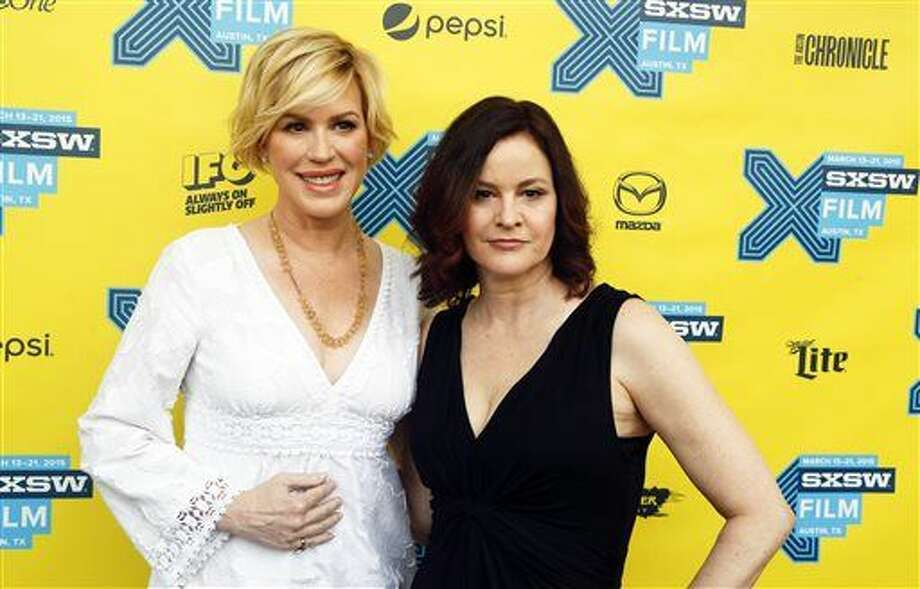 "Molly Ringwald, left, and Ally Sheedy walk the red carpet for ""The Breakfast Club"" 30th Anniversary Restoration World Premiere during the South by Southwest Film Festival on Monday, March 16, 2015 in Austin, Texas. (Photo by Jack Plunkett/Invision/AP) Photo: Jack Plunkett"