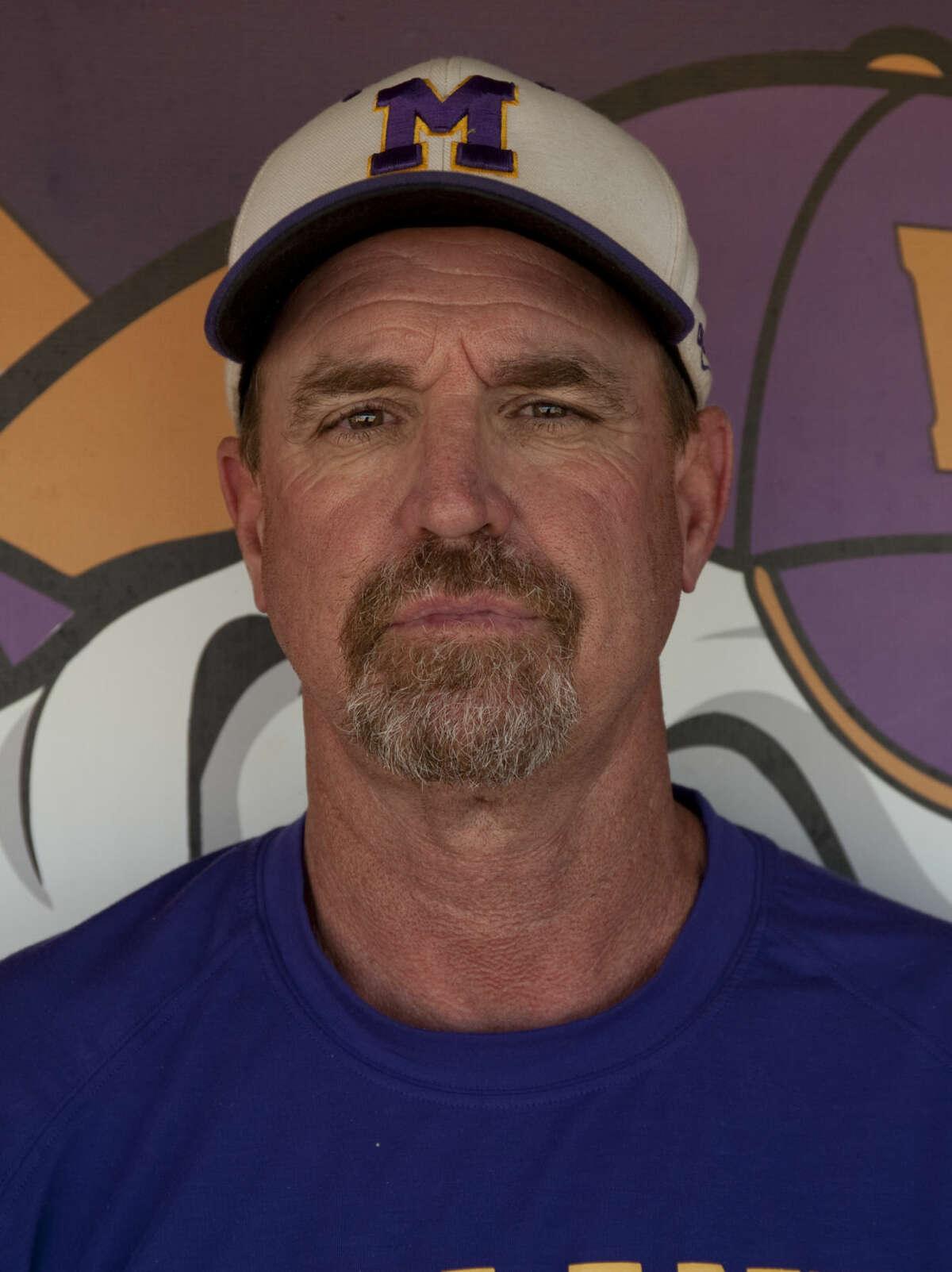 Coach Barry Russell Wednesday, 4-15-15 Tim Fischer\Reporter-Telegram