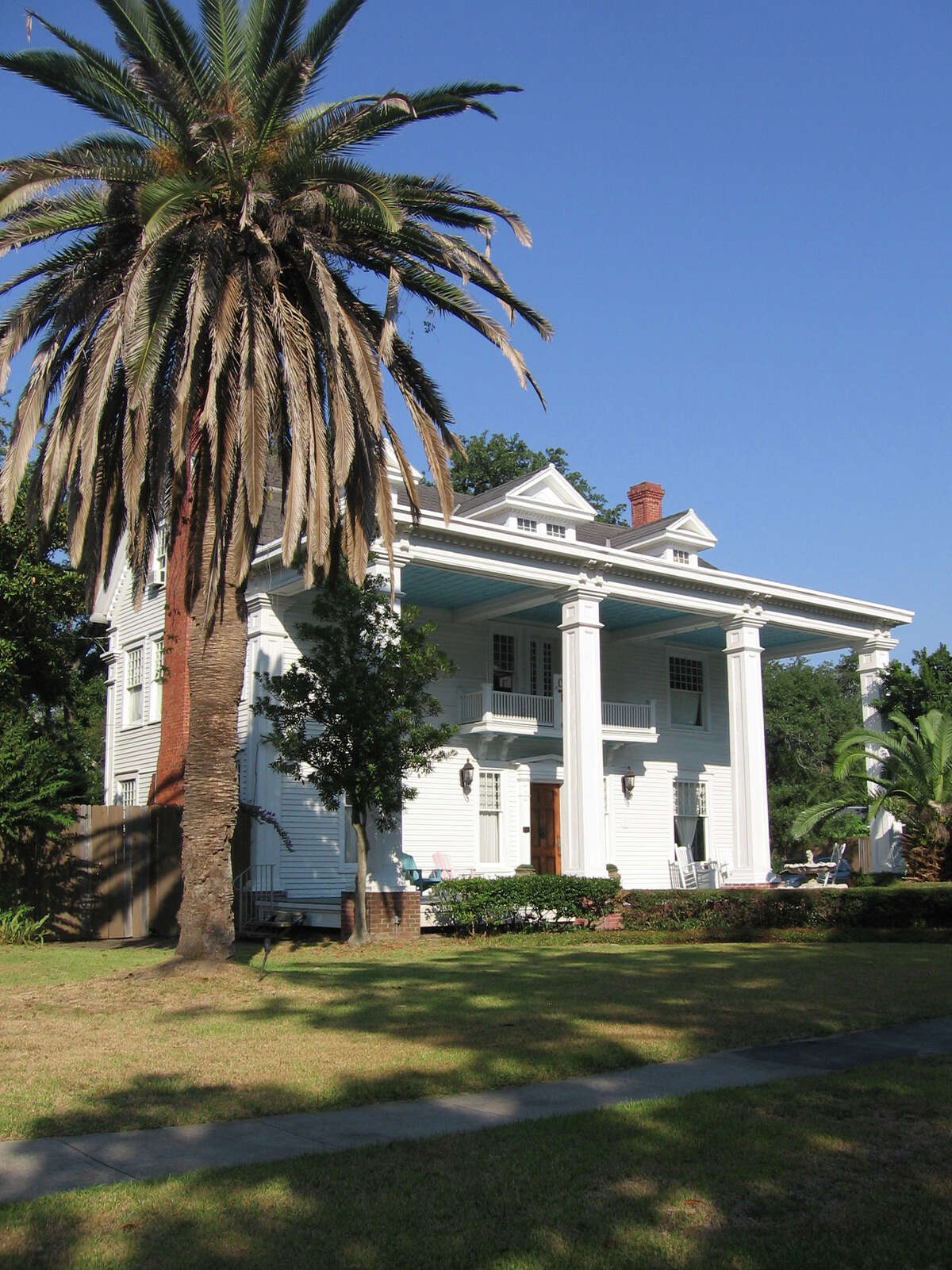 Historic houses are just some of the attractions for visitors to Lake Charles.