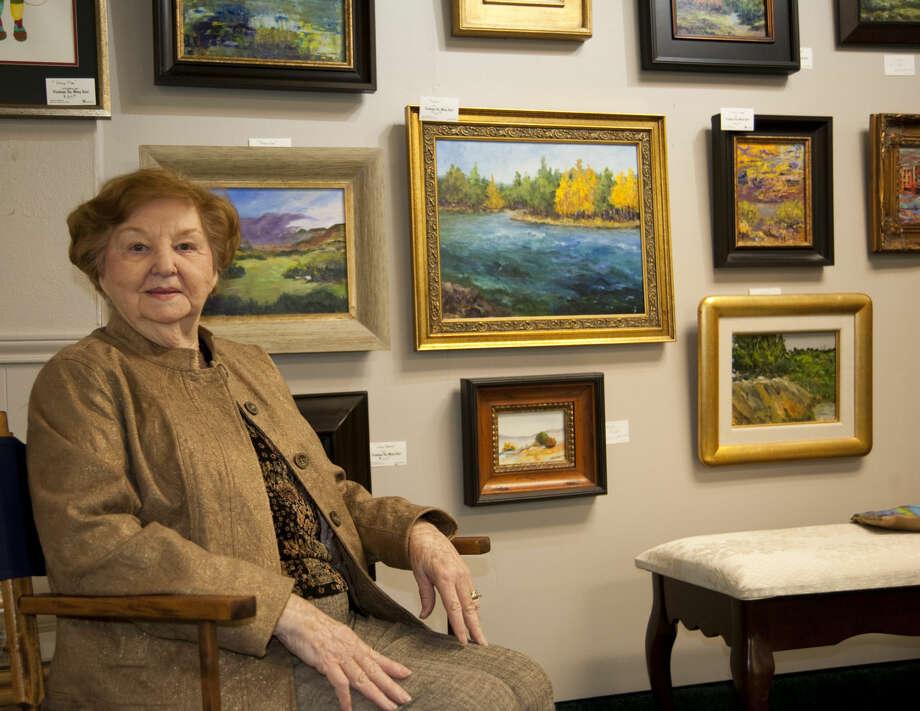 3-17-15 Mary Tucci, Distinguished Artist for 2015 Celebration of the Arts. Tim Fischer\Reporter-Telegram Photo: Tim Fischer