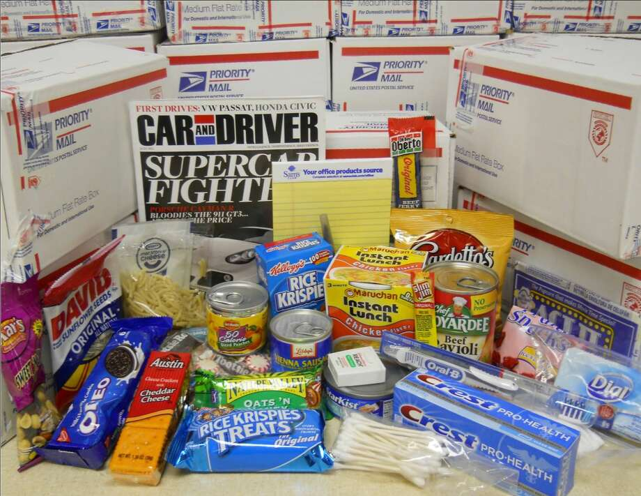 Honor Our Troops packs and sends care packages to members of the military. Photo: Courtesy Photo