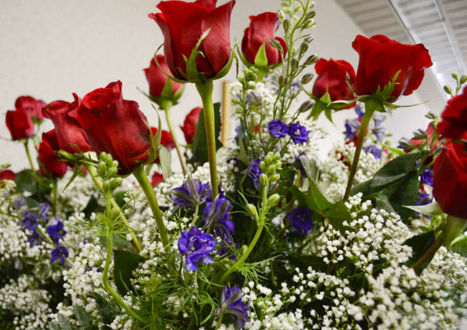 Arrangements available at Fine Flowers and Scents. Tim Fischer\Reporter-Telegram Photo: Tim Fischer