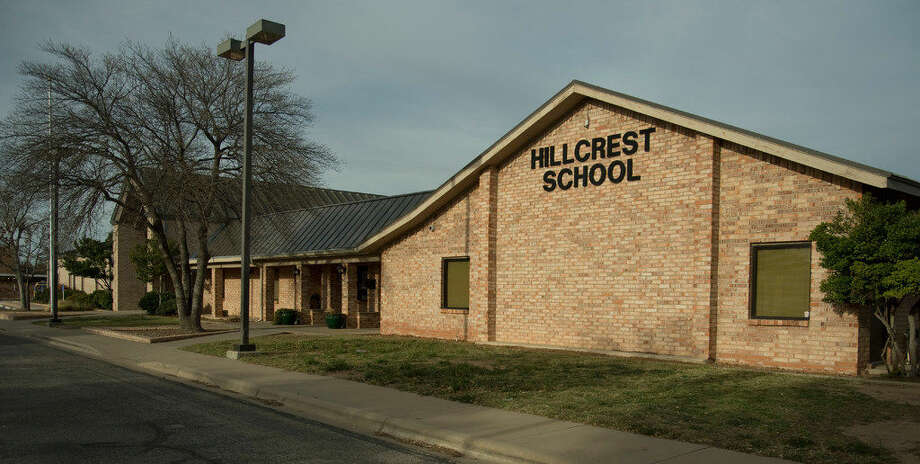 Hillcrest School, at 2800 North A Street, has started construction Saturay 03-05-16 to expand the school for more classrooms and a new gymnasium. Tim Fischer\Reporter-Tel­egram Photo:  Tim Fischer\Reporter-Tel­egram