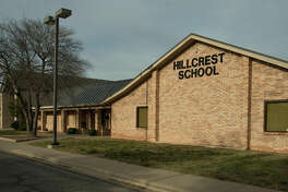 Hillcrest  School, at 2800 North A Street, has started construction Saturay 03-05-16 to expand the school for more classrooms and a new gymnasium. Tim Fischer\Reporter-Telegram