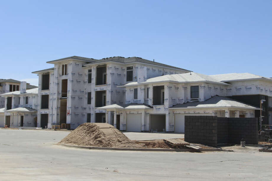 Le Mirage apartments on Wadley Avenue next to Buffalo Wild Wings opened in November or December. Photo: Tyler White