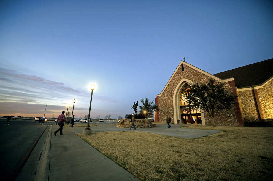 Memorial service for Gregg and Jana McDonald, Wednesday, March 2, 2016, at Mid-Cities Church in Midland. James Durbin/Reporter-Telegram Photo: James Durbin