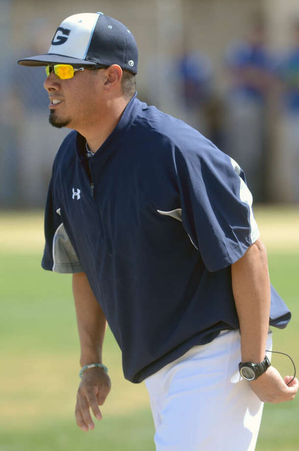 Greenwood boys baseball coach Stephen Rodriguez looks on during the game against San Angelo Lake View during the 19th Annual West Texas Classic in 2014. James Durbin/Reporter-Telegram Photo: JAMES DURBIN