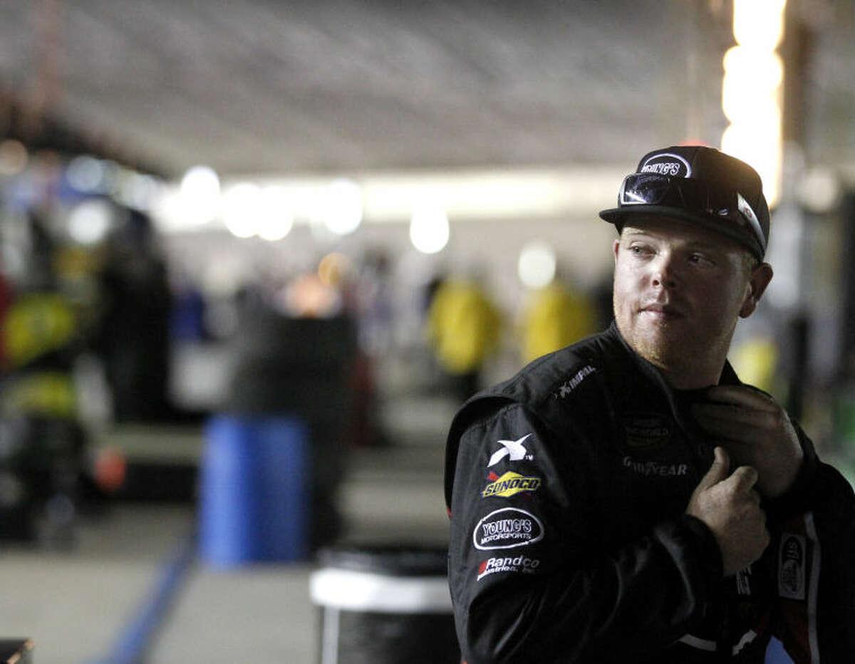 Midlander Tyler Young will return to the Truck series this weekend in Iowa. James Durbin/Reporter-Telegram