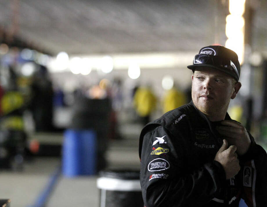Midlander Tyler Young will return to the Truck series this weekend in Iowa. James Durbin/Reporter-Telegram Photo: JAMES DURBIN