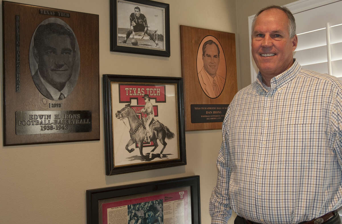 3-26-15 Dan Irons, former Texas Tech offensive lineman, will be inducted into the Southwest Conference Hall of Fame. Tim Fischer\Reporter-Telegram