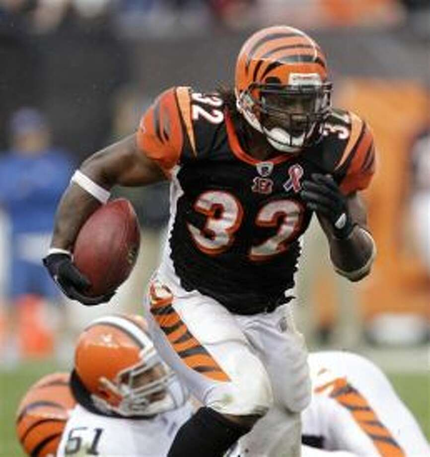Cedric Benson, born in Midland, was a football running back who played for the Cincinnati Bengals and the Green Bay Packers. He attended Robert E. Lee High School and played for the University of Texas at Austin. Photo: Tony Dejak