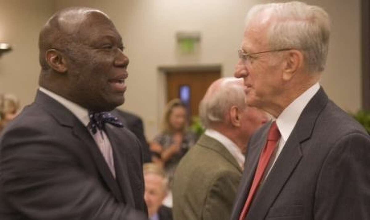 Michael Williams, the commissioner of education, became the first African-American to hold a state elected office in Texas when he was elected to the Texas Railroad Commissioner position in 1999.