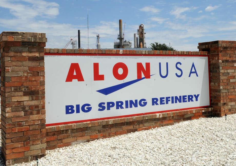 Alon USA Big Spring Refinery Photo by Reid Merritt 8/14/08