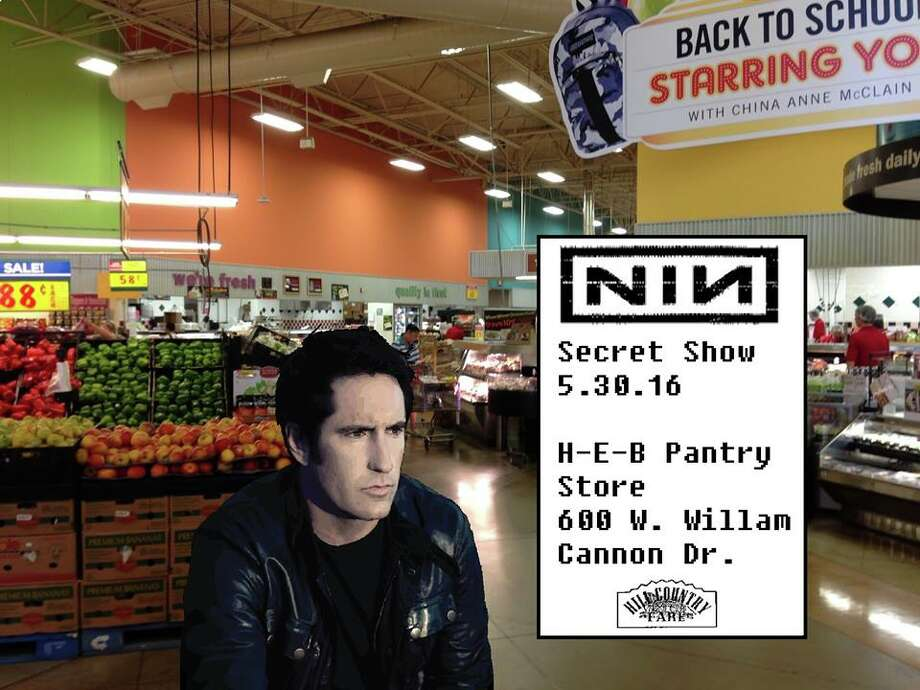 Trent Reznor was rumored to play a secret show later in May 2016, but it turned out to be a hoax.