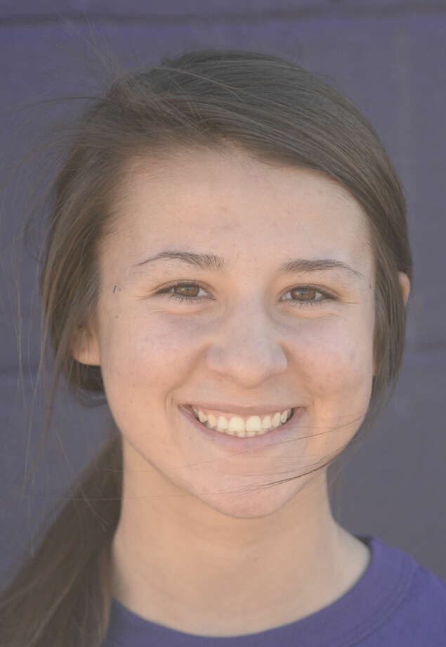 Midland High softball mugs 2016 - Brooke Ryan (8) James Durbin/Reporter-Telegram
