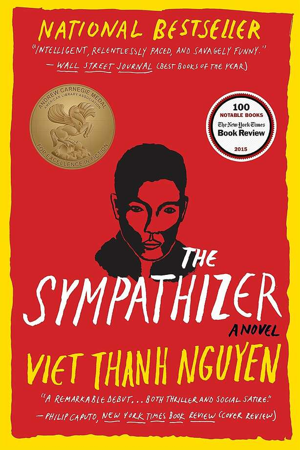 """This book cover image released by Grove Press shows """"The Sympathizer,"""" a novel by by Viet Thanh Nguyen, which won a Pulitzer Prize on Monday, April 18, 2016 in the fiction category. (Grove Press via AP) Photo: Associated Press"""